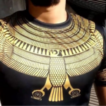 3D Printed Horus Egyptian God Clothes Uayt0104