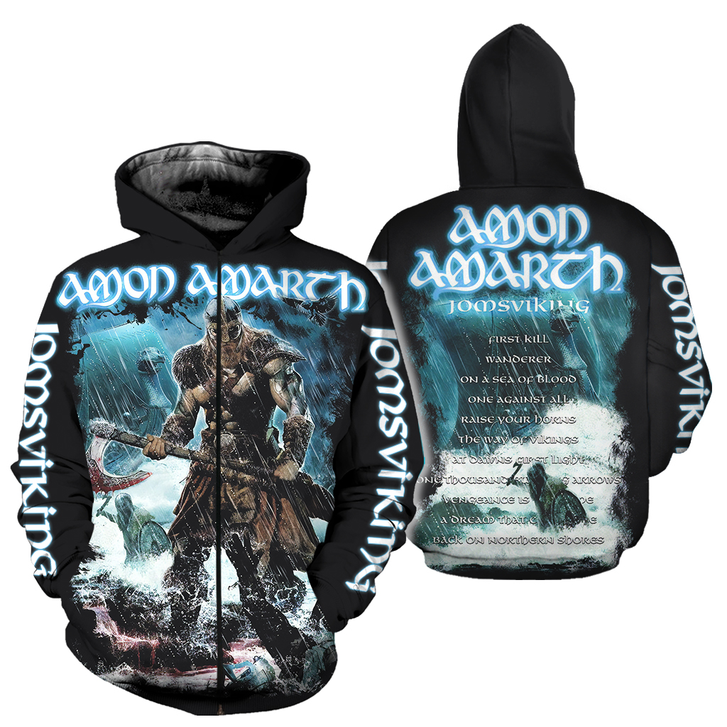 All Over Printed Amon Amarth Jomsviking Clothes ADS116a